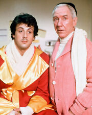 SYLVESTER STALLONE BURGESS MEREDITH ROCKY II PHOTO