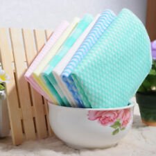 cleaning cloth dish cloth,kitchen towel 40pc/set bamboo fiber nonwoven spunlace
