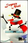 ZELLERS TARGET MERRY CHRISTMAS SNOWMAN RARE FRENCH RARE COLLECTIBLE GIFT CARD For Sale