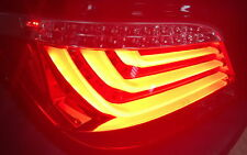 LED BAR RÜCKLEUCHTEN für BMW 5er E60 03-07 FACELIFT OPTIK ROT KLAR LED BLINKER