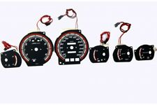 Toyota Supra MK3 (1986-1992) glow gauges dials plasma dials kit tacho glow dash