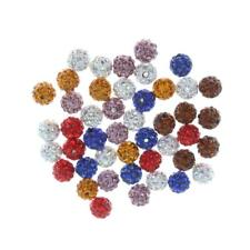 50pcs Clay Pave Disco strass Perles Shamballa __gVirt_NP_NN_NNPS<__ 10mm