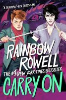 Carry On by Rainbow Rowell (2017, Paperback)