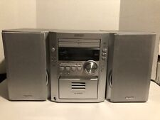 New listing Sharp Xl-Hp500 3-Cd Am/Fm Cassette Stereo Micro Component System