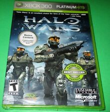 Halo Wars -- Platinum Hits  Xbox 360 *Factory Sealed! Free Shipping!