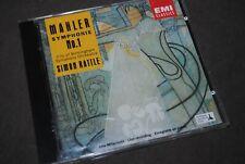 """MAHLER """"Symphonie N°1"""" - Rattle CD / EMI CLASSICS - 754647-2 / 1992"""