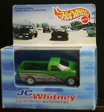 NEW HOT WHEELS JC WHITNEY GREEN FORD F 150 PICKUP TRUCK