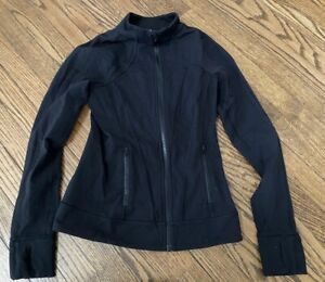 ivivva - perfect your practice jacket - black - Size 14