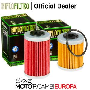 COPPIA FILTRI OLIO HIFLO Beta RR Enduro4T 250/400/450/525/KTM EXC RACING 250/400