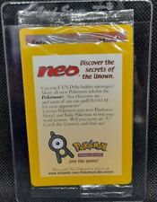 POKÉMON~1X~ENTEI~N°34~PROMO~BLACKSTAR~SEALED~ENGLISH