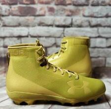 Under Armour Ua Hammer Mc Football Cleats Ua 1289775-700 Gold Size 12 New