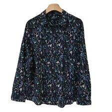 Sportscraft Womens Shirt, Size 16, Liberty Art Fabrics Floral