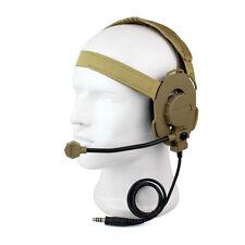 Z Tactical HD-03 Bowman Elite II Headset Headset Earpiece Yellow+tracking CO