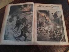 LA DOMENICA DEL CORRIERE RILEGATA: ANNATE DA GENNAIO 1915 A GENNAIO 1917 (75num)