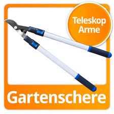Teleskop Astschere Gartenschere Baumschere Teflon mit Teleskopgriffen 45mm Ø