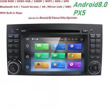 Autoradio Android 8.0 Mercedes Classe A B W169 W245 Sprinter Vito Viano Crafter