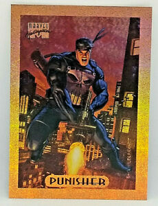 MARVEL MASTERPIECE 1994 * LIMITED EDITION BRONZE HOLOFOIL #6 * THE PUNISHER *