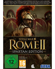 PC Computer Game Total War: Rome 2 (Spartan Edition) II DVD Shipping NEW