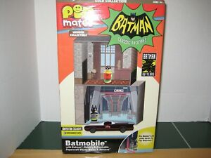 Pin Mates Exclusive BatMan Classic TV Series Batmobile GOLD Collection Numbered