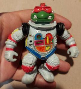 1990 TMNT Teenage Mutant Ninja Turtles Raphael Space Cadet Turtle 4 inch C111