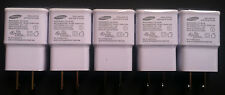 5x Samsung 2 Amp 5 Volt Wall Charger USB Adapter OEM for Galaxy Note 2 3 S5 S4