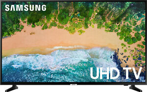 "NEW Samsung Smart TV LED 4K UHD HDR 50"" Flatscreen WiFi 60Hz Refresh Rate"