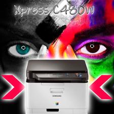 SAMSUNG Xpress C480W Multifunktions-Farblaserdrucker W-LAN inkl. neue Toner