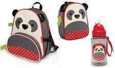 Skip Hop Pia Panda Bear 3-pc Set - Bottle, Backpack & Zoo Lunchie Insulated Bag
