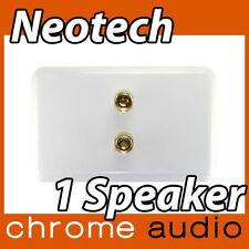 Neotech 1 Speaker Wall Plate