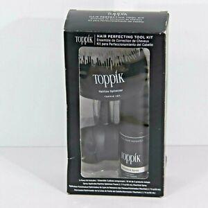 Toppik Hair Perfecting Tool Kit Fiber Hold/Spray Applicator/ Hairline Optimizer