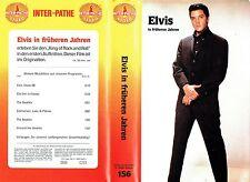 (VHS) Elvis Presley in früheren Jahren - Inter Pathe Video (ganz selten)