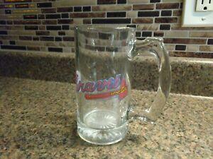 Vintage Baseball MLB Atlanta Braves Glass Beer Mug