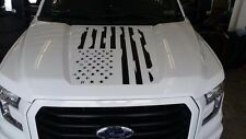 FORD F150 DISTRESSED FLAG HOOD DECAL F-150 2015 2016 2017 2018 CHOOSE COLOR