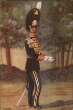 Dutch Netherlands Military Uniforms Garderegiment Grenadiers 1949 Postcard #1