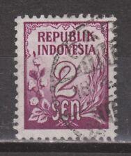 Indonesia 73 used Cijfer 1951 : NU VEEL MEER INDONESIE