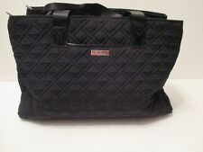 Vera Bradley TRIPLE COMPARTMENT TRAVEL BAG  in Classic Black NEW