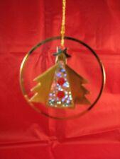 RARE Resl Lenz Disc Shape Tree Ornament