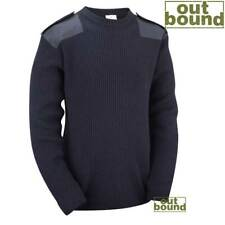 Army Military Combat Style Jumper Commando Pullover Security Winter Sweater Top