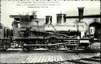 Eisenbahn Fotokarte Dampflokomotive erbaut Maschinenfabrik Kessler Esslingen