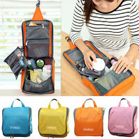 Women Hanging Toiletry Wash Bag Travel Make Up Cosmetic Organizer Storage Case