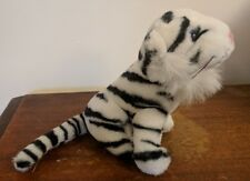 "Wild Republic Siberian White Tiger Cat 6"" Tall Plush K&M Toy"