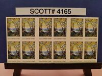 Scott # 4165 - Louis Comfort Tiffany -  Booklet of (20) 41 Cent Stamps
