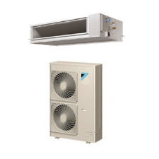 36,000 Btu 17.5 Seer Daikin Single Zone Ducted Air Conditioning System