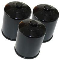 3 Pack Oil Filter for Yamaha 1300 FJR1300 Abs FJR13 Electric Shift 2003-2006