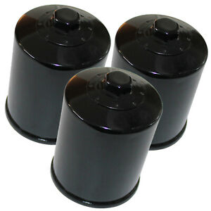 3 Pack Oil Filter FITS YAMAHA FJR1300A FJR1300AE 2007 2008 2009 2010 2011 2012