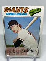 San Francisco Giants Johnnie LeMaster 1977 Topps Baseball Card 151