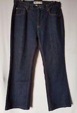 "WOMEN'S JEANS JEANSWEST STRAIGHT STRETCH SIZE 15/33"" LEG 28"" NWOT FREE POSTAGE"