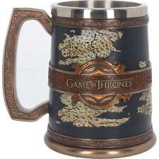 Nemesis Now The Seven Kingdoms Tankard Game of Thrones Mug 23cm Blue