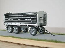 Siku 2877 Brantner DD24060 Blackline Kipper 1:32 stark limitiert 700 Stück