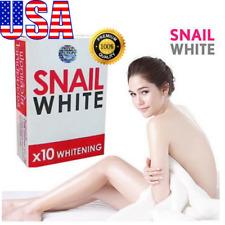 1 Bar  Snail White Gluta Soap x10 Whitening Facial Body Skin Brightening 70 g